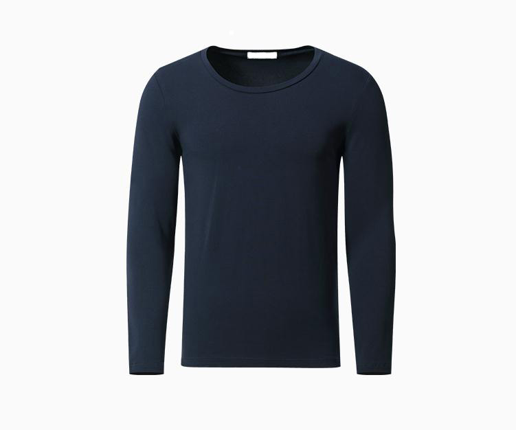black mens long sleeve base tee 35%polyerster 65%cotton men's t shirt comfort colors wholesale china blank t shirts