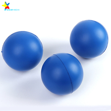 logo printed custom vinyl toys pu foam anti stress ball toys