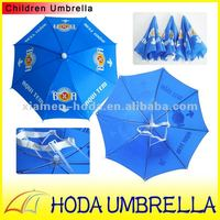 cheap advertising head umbrella/hat umbrella