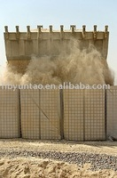 hesco container barrier blast wall