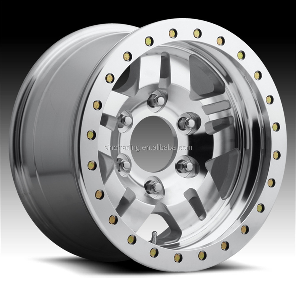 Aluminum beadlock wheel / 4X4 wheel / steel wheel for European Market Rim