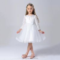 White wedding princess dress