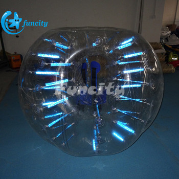 Different colors giant inflatable bubble soccer suits , inflatable bubble ball suits, bubble soccer