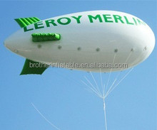 Custom made inflatable pvc airship/helium blimp outdoor/zeppelin /inflatable blimp for sale