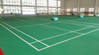 Synthetic silicon PU tennis courts sport court surfacing