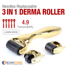 Mini derma roller face slimming massager price