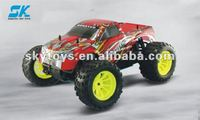 !HSP 1/10th Scale Nitro Off Road Monster Truck-Pivot Ball Suspension speed hsp tyrannosaurus nitro rc monster truck