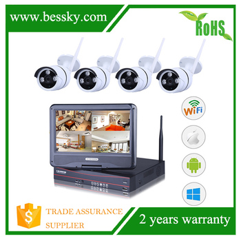 p2p onvif hdmi wireless outdoor security camera systems,remote LCD Monitor wireless cctv system