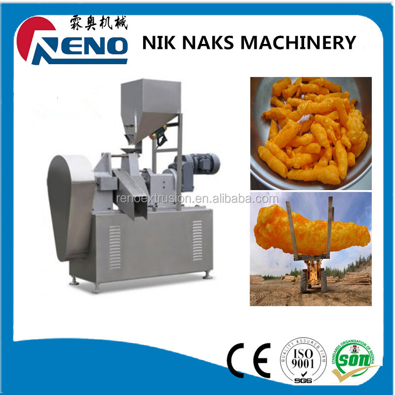China factory price Nice looking flavors of kurkure processing line