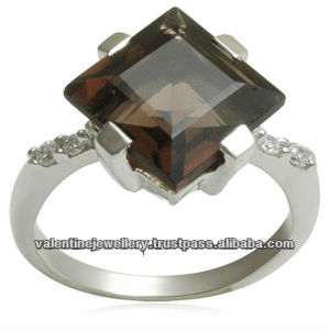 princess concave cut gemstone ring, rings design with gems, turkish rings for men
