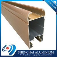 Favorable price high tensile strength aluminum profile 6063 for windows