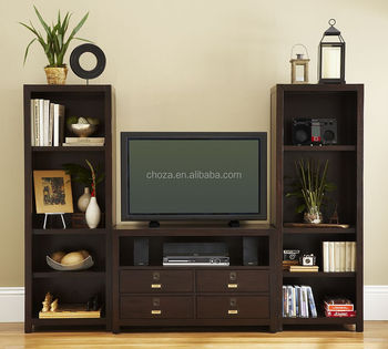 F50310A-1American new model wood tv cabinet with showcase tv hall cabinet