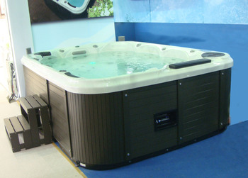 Chinese manufacturer CE approved USA Aristech Acrylic jet tub hot bath tub