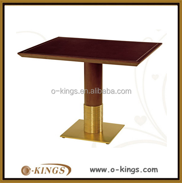 Restaurant mdf modern luxury dining room table for sale