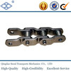 ISO DIN standard welded steel type heavy duty cranked link mill WH124 conveyor chain attachment