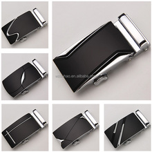 Formal Bussiness Man Genuine Leather Automatic Belt's Auto Lock Buckle In Bulk