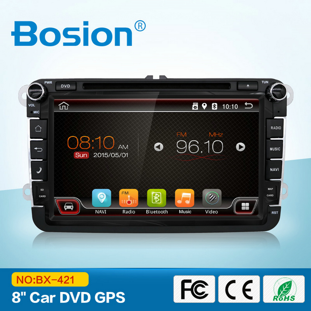 8 inch Quad Core VW Spare Parts Android GPS System Car DVD with Mirror Link CANBUS for Jetta MK5 Radio