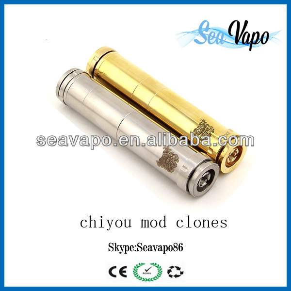 2014 hottest selling chi you mod mechanical clone ecig ecigarette chi you mod