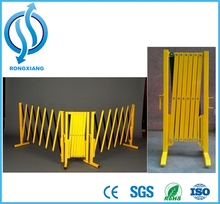Retractable Safety Barrier / Folding Traffic Barrier / Plastic Traffic Barrier