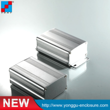 63*37-L mm aluminium alloy enclosure Custom process electrical control box aluminium extrusion enclosure