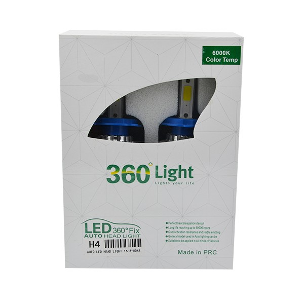 Factory supply high quality 360 high lumen car led bulb 24w 2600lm cob led headlightled car bulbs