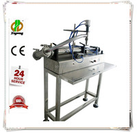 Factory price semi automatic liquid orange juice bottle filling machine 500ml