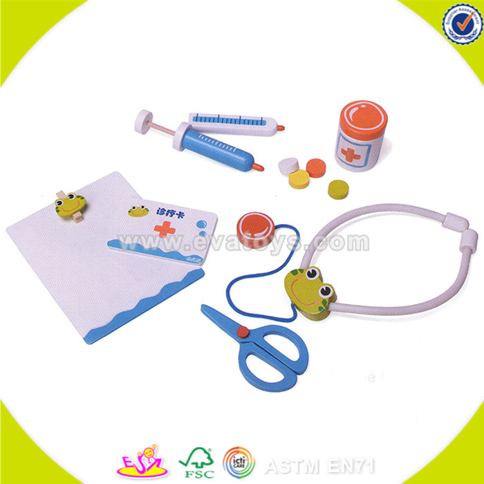 New Design Education kids wooden doctor set toy New type toy doctor kit on sale W10D107