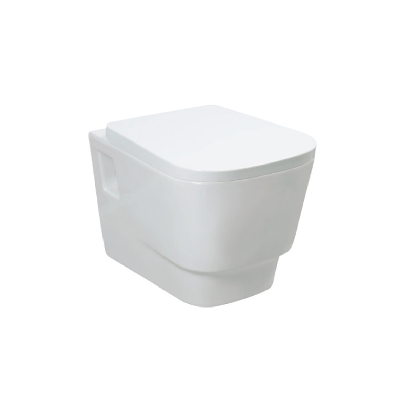 Sanitary ware cistern hidden gravity flushing toilet bowl