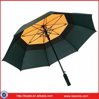 double layer air vent umbrella
