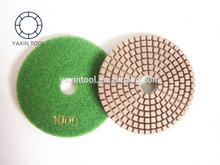 3 inch Ceramic Diamond Concrete floor Dry polishing pads