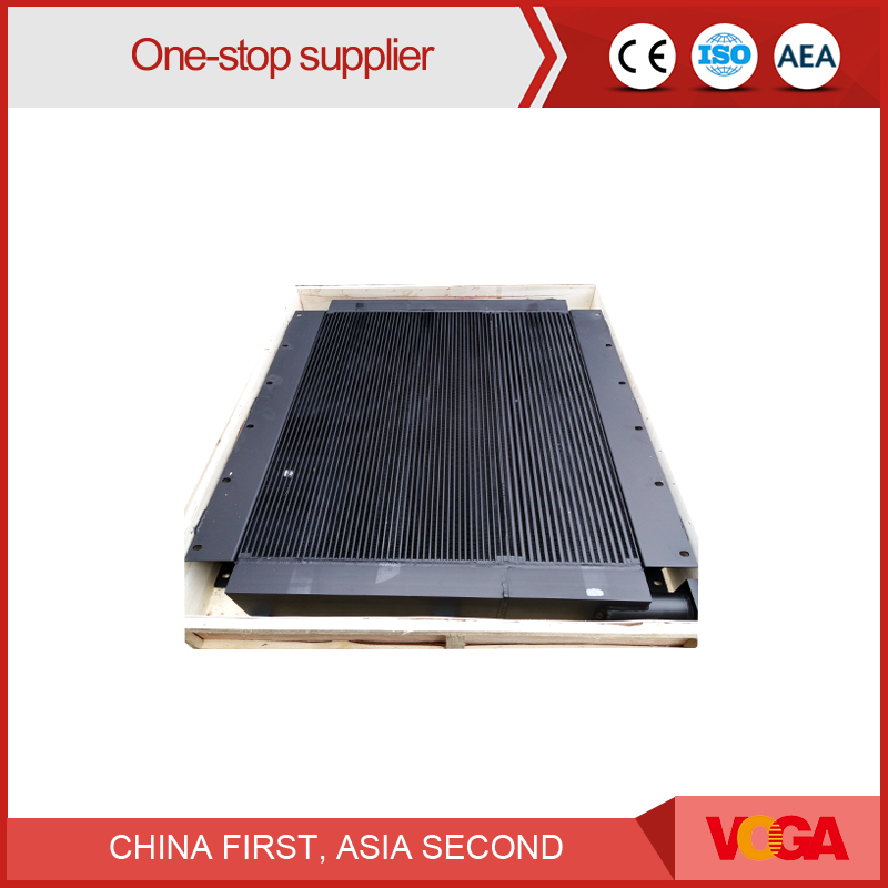 Heat exchanger screw air compressor oil cooler for sale