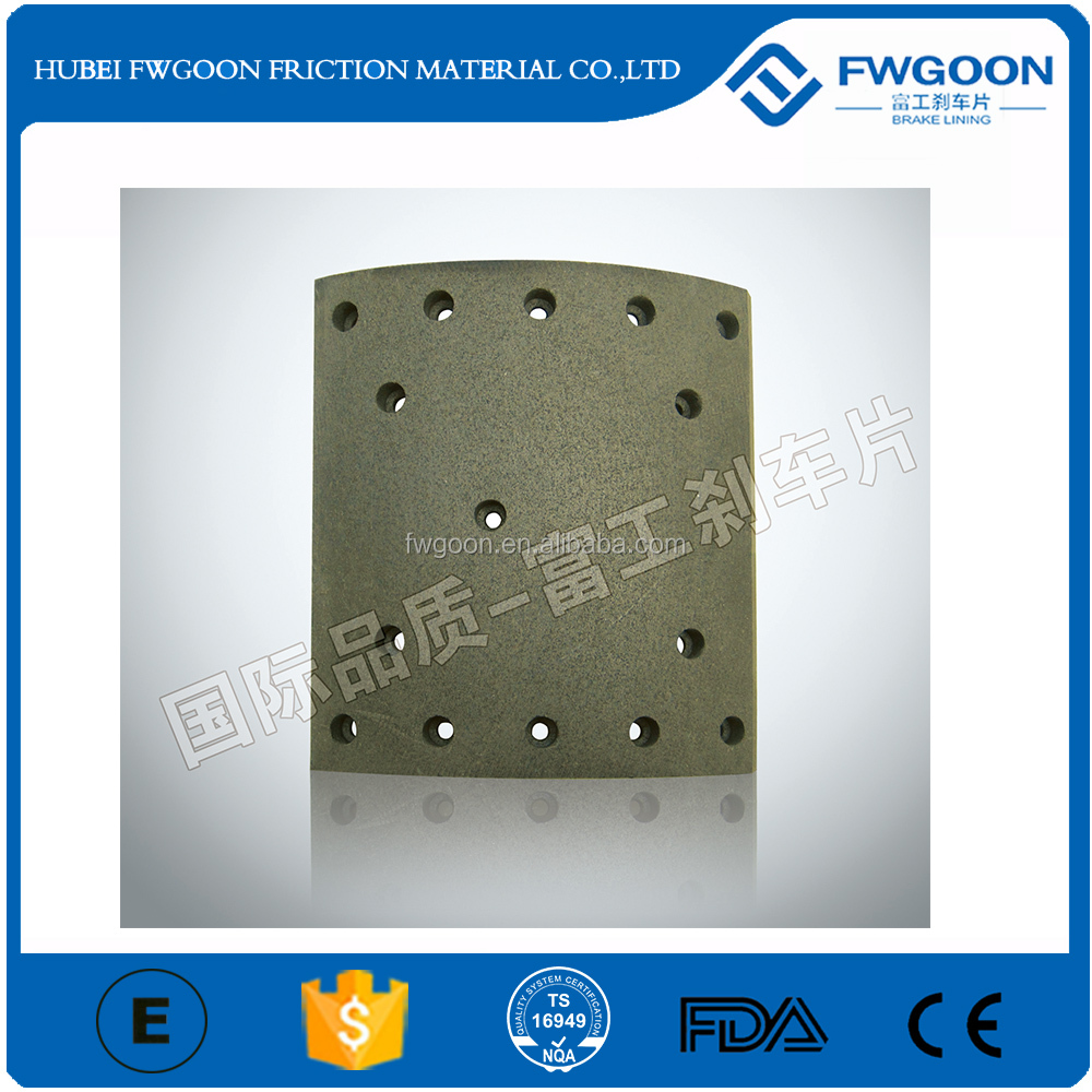 Frasle Quality Truck Spare Part Brake Lining Hot sale