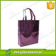 Customize large nonwoven shopping tote bag manufacturer/80-150gsm pp non woven laminated bags