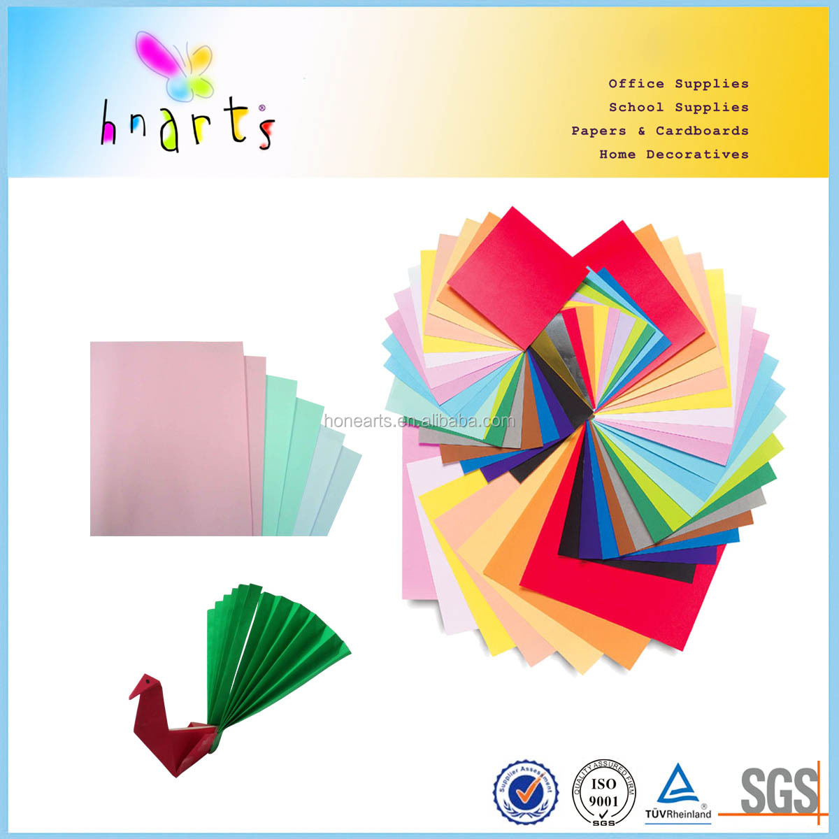 Colrful paper,cardboard for printer,a4 color printing paper