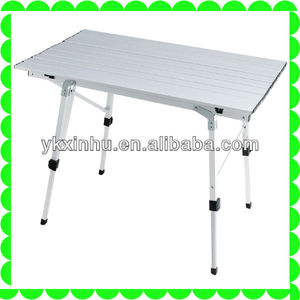 light weigt camping table outdoor furniture Aluminum folding table