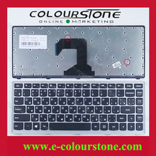 New Teclado For Lenovo Ideapad S300 S400 S405 laptop RU keyboard Black
