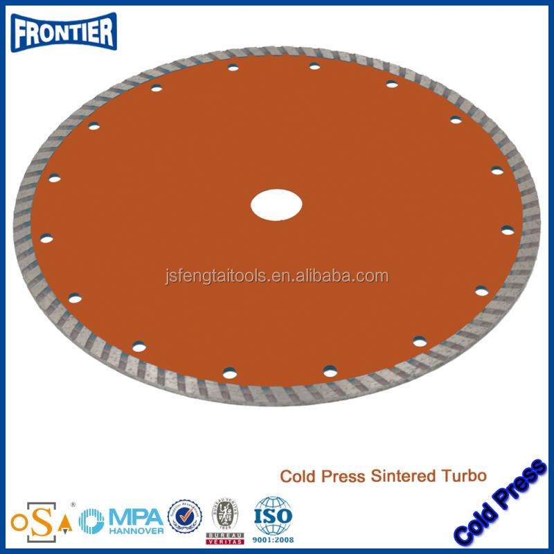 High Sharpness Diamond segment for Multi Blades