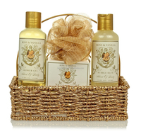 Beauty Spa Body Care Set in Basket