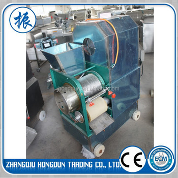 High-speed fish meat separating machine