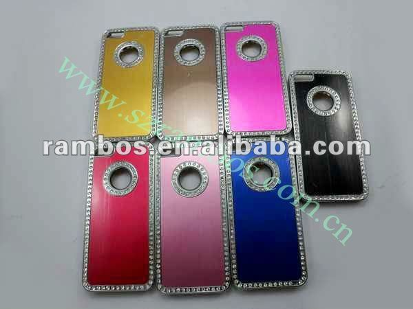 For iPhone 5 5G diamonds crystal rhinestone cover protective case