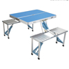 outdoor furniture new style aluminum foldable portable camping table with stool