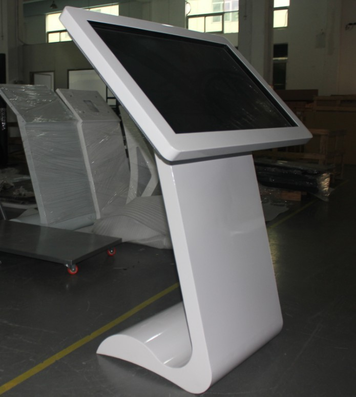 42 inch popular touch screen kiosk with built in computer and wifi function