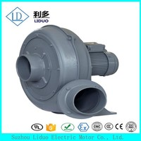 1.5KW high pressure side channel air conditioner blower motor price