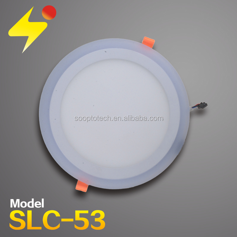 18w plus 6w led ceiling light 95mm cheap price led ceiling light philippines