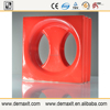 demax 2015 invent waterproof building material 3d hollow ceramic block for hotel panel