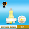 12# Yellow Mini Dynamic Mixing Tips for Dental Machine
