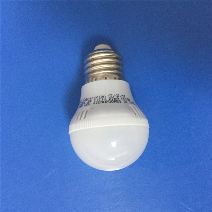 3W 5W 7W 9W 12W E27 B22 110-240V Plastic LED light bulb