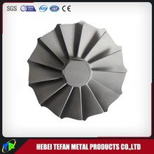 Nickel Based Alloy Lost Wax Investment Vacuum Casting Turbine Wheel
