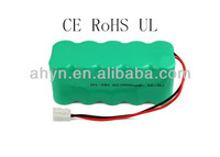 12V SC2000mah battery pack ni-mh for clearner cordless drill