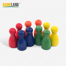 Wooden Pawn Pieces Halma Pawns Custom Playing Game Pawn